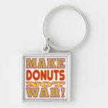 Make Donuts Key Chains