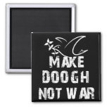 Make Doogh Not War 2 Inch Square Magnet