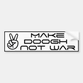 Make Doogh Not War Bumper Sticker