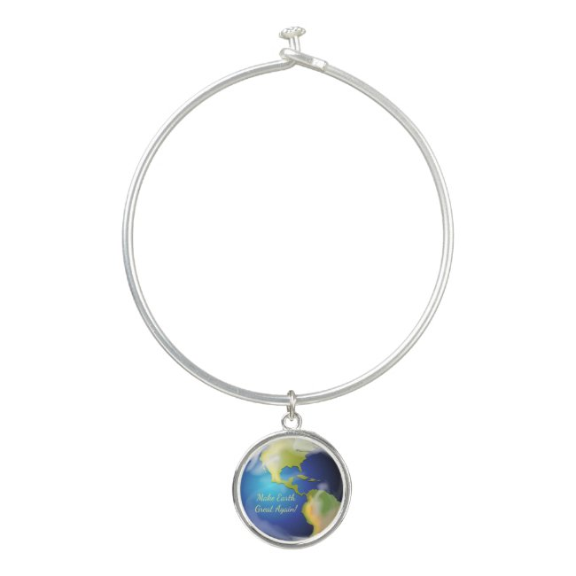 Make Earth Great Again Bangle Bracelet