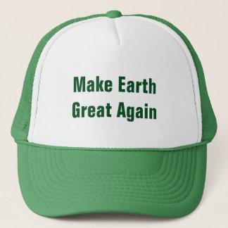 Make Earth Great Again Earth Day Trucker Hat