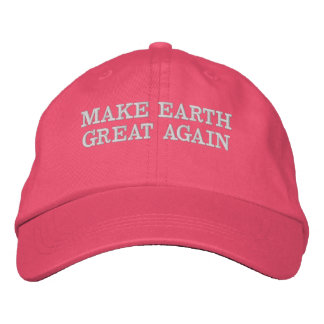 MAKE EARTH GREAT AGAIN - MEGA EMBROIDERED BASEBALL CAP