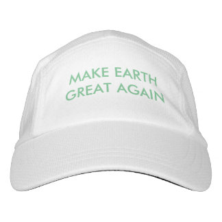 Make Earth Great (and green) Again! Headsweats Hat