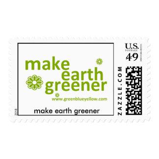 make earth greener postage