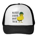 Make Eggs Not War Trucker Hat