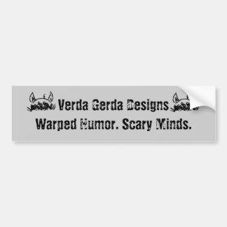 Make 'Em Wonder Bumper Sticker