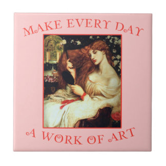 Make Every Day a Work of Art Rosetti Ceramic Tile