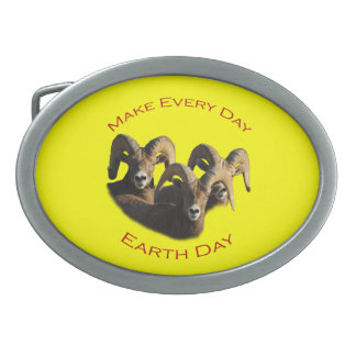 Make Every Day Earth Day Belt Buckle