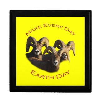 Make Every Day Earth Day Keepsake Box