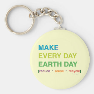 Make Every Day Earth Day Keychain
