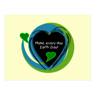 Make Every Day Earth Day Postcard