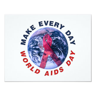 Make Every Day World AIDS Day Card