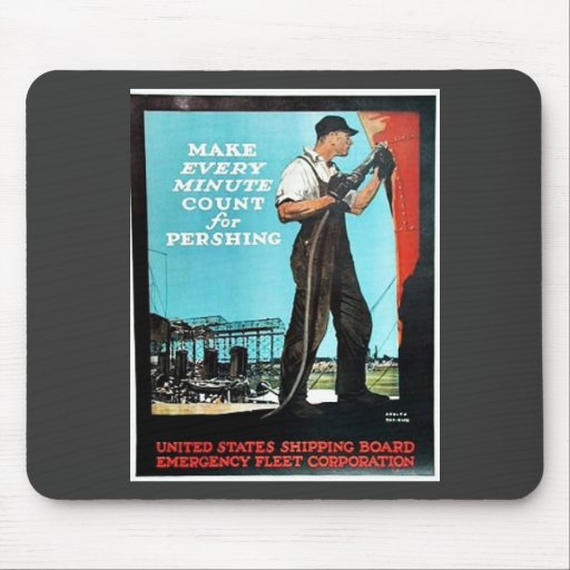 Make Every Minute Count Mouse Pad