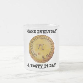 Make Everyday A Tasty Pi Day (Pi On Baked Pie) Coffee Mugs