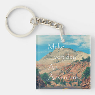 Make Everyday An Adventure Keychain