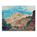 Make Everyday An Adventure Postcard