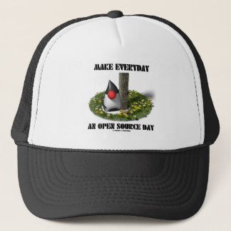 Make Everyday An Open Source Day (Java Duke) Trucker Hat
