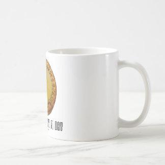 Make Everyday Pi Day (Mathematics Pi / Pie Humor) Coffee Mug