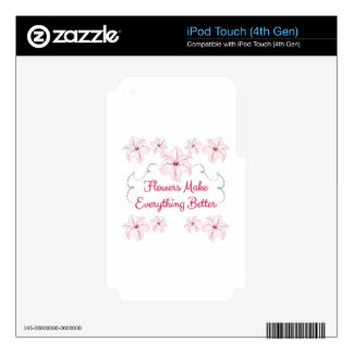 Make Everything Better iPod Touch 4G Skin
