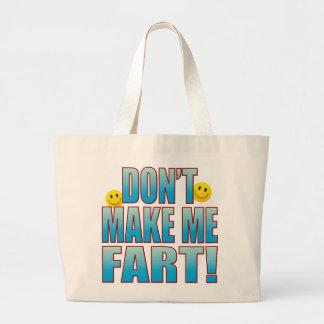 Make Fart Life B Large Tote Bag