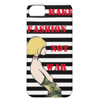 Make Fashion Not War! iPhone 5 Covers