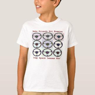 Make-Friends(maroon) T-Shirt