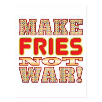Make Fries v2b Postcard