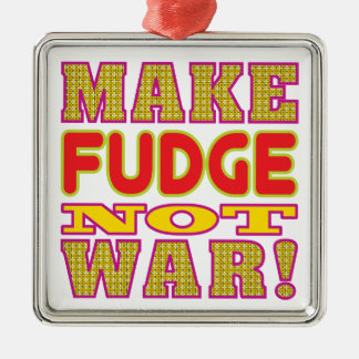 Make Fudge Metal Ornament