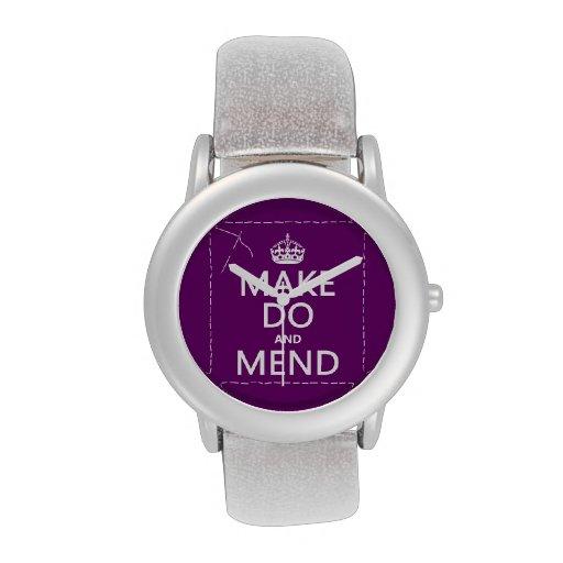 Make hace y repara (todos los colores) relojes de pulsera