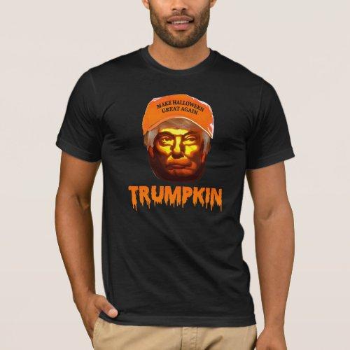 Make Halloween Great Again Trumpkin T_shirt