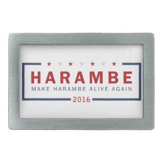 Make Harambe Alive Again Belt Buckle