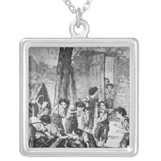 Make haste young un' or they won't have a turnip square pendant necklace