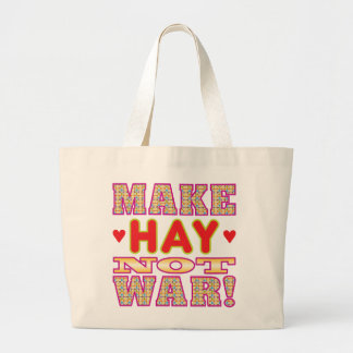Make Hay v2 Canvas Bag