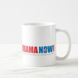 Make history Elect Obama Now. Coffee Mug
