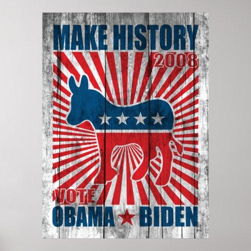 Make History Poster