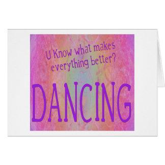 Make it all better - DANCE Card
