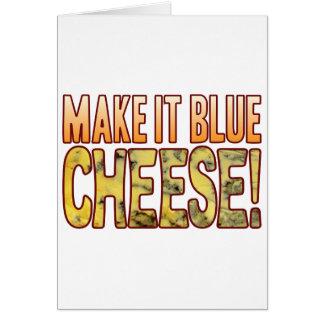 Make It Blue Cheese Card