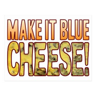 Make It Blue Cheese Postcard