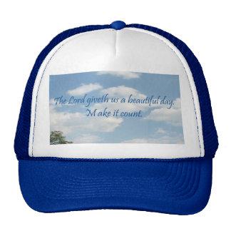 Make It Count Hat