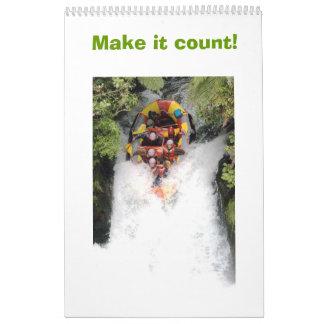 Make it count! calendar
