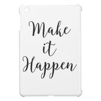 Make It Happen Cursive Script Cover For The iPad Mini