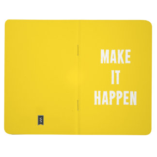 Make It Happen Motivational Quote Journal Notebook