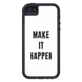 Make-It-Happen-Motivational-Quote-Pos-20in-OL_1d.p Case For iPhone SE/5/5s