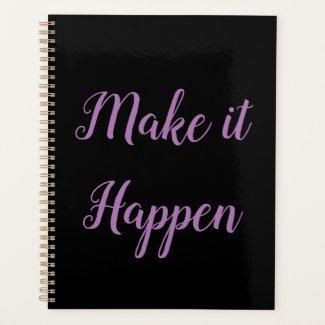 Make It Happen Planner