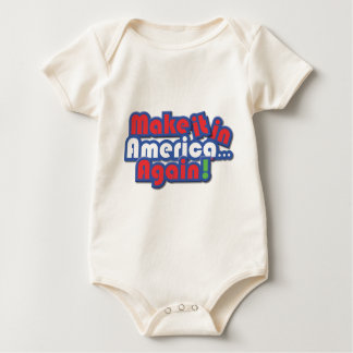 Make it in America! Baby Bodysuit