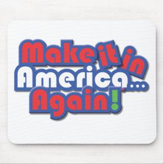 Make it in America! Mousepad