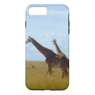 Make it Kenyan African Safari Giraffes iPhone 7 Plus Case