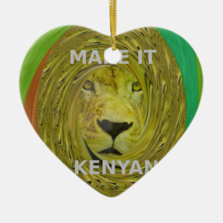 Make it Kenyan Ceramic Ornament