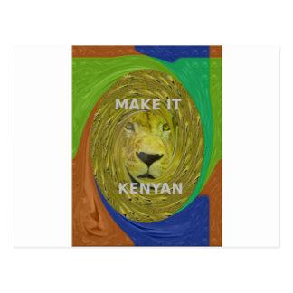 Make it Kenyan Postcard