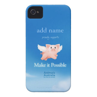 Make it Possible Blackberry case (personalized)